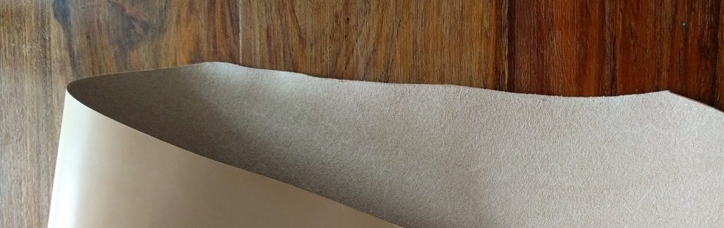 The vegetable tanned leather used by Stitches and Hides