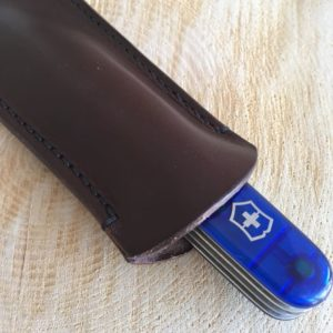Leather Swiss Army Knife pouch