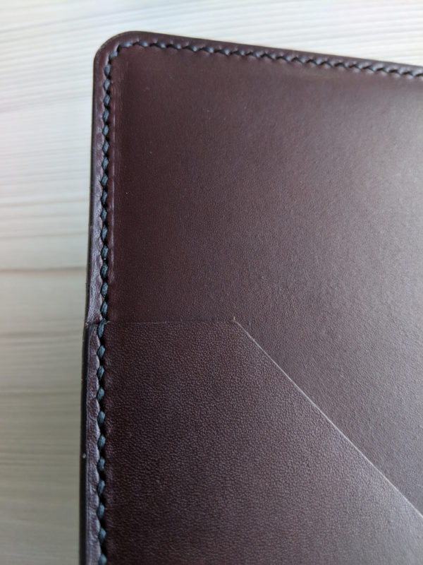 OXFORD A5 Notebook Cover Inside Pouch Closeup
